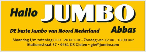 advertentie Jubmo